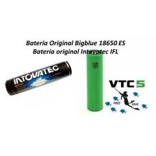 Baterias originais BigBlu/ Intovatec